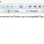 Remove Words from Firefox Custom Dictionary