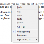 Use the Snipping Tool to Capture Menus