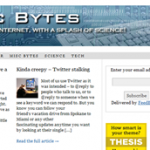 Site of the Week: Misc Bytes.com